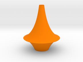 The Pseudosphere in Orange Processed Versatile Plastic