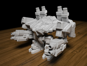Thor 65mm Tall X 74mm X 67mm in Smooth Fine Detail Plastic