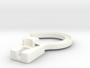 ConvertAHanger in White Processed Versatile Plastic