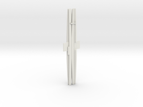 3DR Telemetry Antenna 915Mhz in White Natural Versatile Plastic