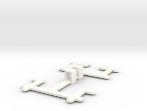 WrapIt Small (headphones) in White Processed Versatile Plastic