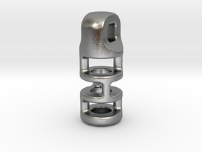 Tritium Lantern 3B (2.5x10mm Vial) in Natural Silver