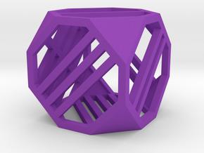 Dice5 in Purple Processed Versatile Plastic