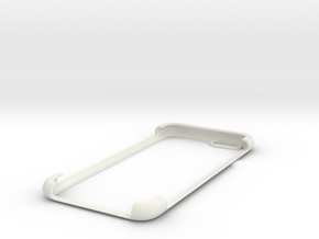 IPhone 6 shell 2 in White Natural Versatile Plastic