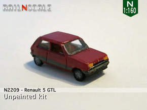 Renault 5 GTL (N 1:160) in Frosted Ultra Detail