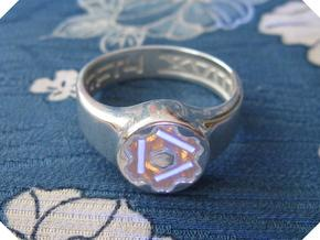 US14 Ring XVIII: Tritium in Polished Silver