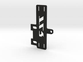Shorty Brace V4 in Black Natural Versatile Plastic