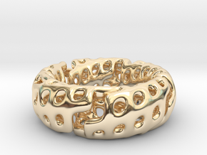 Volcanic Revival Ring in 14K Yellow Gold