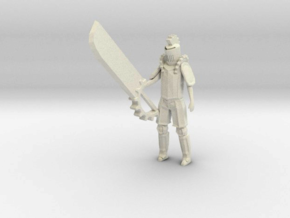 Knight of the Gears in White Processed Versatile Plastic