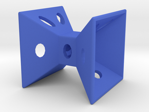 Dice12 in Blue Processed Versatile Plastic