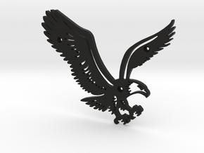 Eagle in Black Natural Versatile Plastic