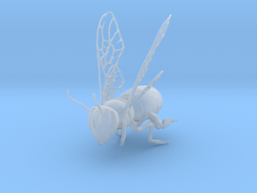 Honey Bee (Small) in Smooth Fine Detail Plastic