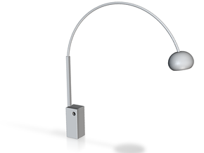 1:24 Arco Floor Lamp in White Strong & Flexible