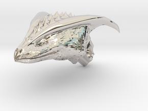 Dragon Head pendant in Platinum
