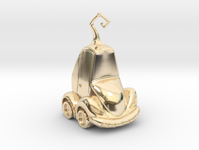 Car Jack in 14K Gold