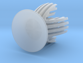 Sliced Egg Holder in Smooth Fine Detail Plastic