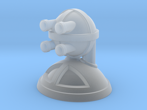 'Robust' robot bust design, model M7-002 in Smooth Fine Detail Plastic