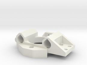 Xcarriagebase in White Natural Versatile Plastic