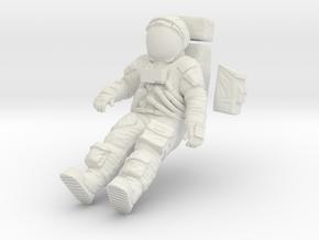 1:24 Apollo Astronaut /LRV(Lunar Roving Vehicle)  in White Natural Versatile Plastic