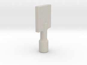 Gas Key in Natural Sandstone