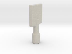 Gas Key in Sandstone