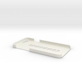 Cerberus iPhone 6 Case in White Natural Versatile Plastic