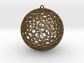 Ornament K0003 in Natural Bronze