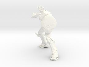 Jian Hurricane / Jian Huracan in White Strong & Flexible Polished