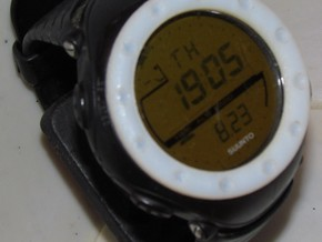 replacement watch bezel v0.0 in Black Acrylic