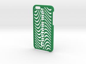 iPhone 6 Case - Customizable in Green Processed Versatile Plastic