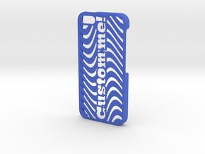 iPhone 5 Case - Customizable in Blue Processed Versatile Plastic
