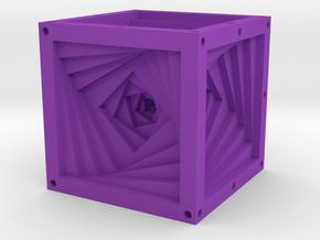 Dice28 in Purple Processed Versatile Plastic