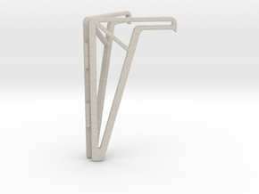 Simple Foldable Phone Stand in Sandstone