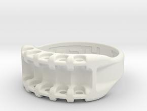 US11.5 Ring IX: Tritium in White Natural Versatile Plastic