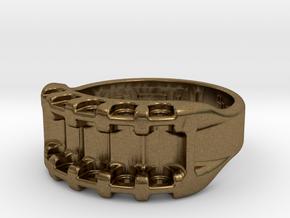 US10 Ring IX: Tritium in Natural Bronze