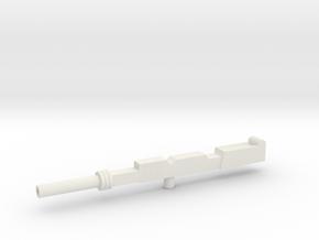 Superion Gun 2 in White Natural Versatile Plastic