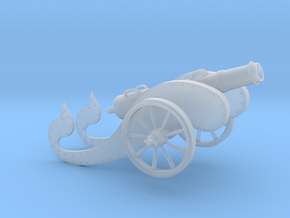 Mini Ancient Cannon  in Frosted Ultra Detail