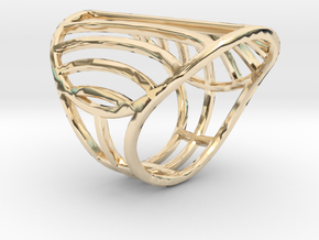 Le Soleil d'Or - Size 8 in 14K Yellow Gold
