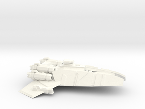 Pugilist Class Cruiser in White Processed Versatile Plastic