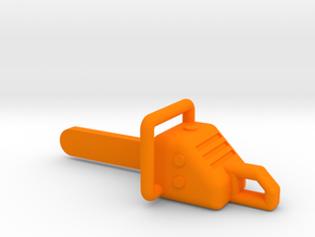 Chainsaw Model 1/32 in Orange Processed Versatile Plastic