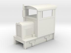 O9 Brookville loco  in White Natural Versatile Plastic