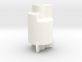 """1 1/2"""" Scale Nathan 3 Chime Whistle in White Processed Versatile Plastic"""