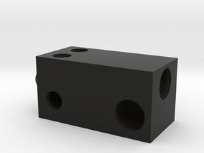 Ender Dragon Body Minecraft in Black Natural Versatile Plastic