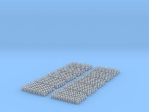 Kurze Kupplungen - 800 Stück in Smooth Fine Detail Plastic