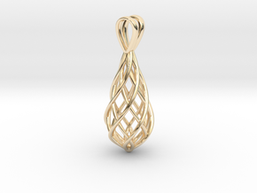 TwistPendant in 14K Yellow Gold