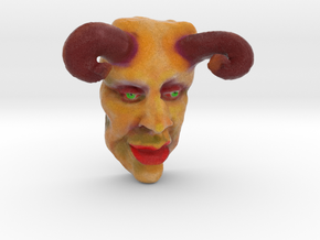 THE DEVIL (3 Inches  tall) in Full Color Sandstone