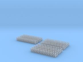 Kurze Kupplungen - 240 Stück in Frosted Ultra Detail