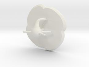 Sparkal in White Natural Versatile Plastic