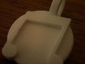 Vinyl Scratch Pendant in Stainless Steel