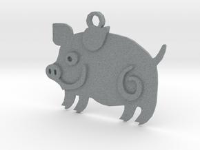 Pig in Polished Metallic Plastic